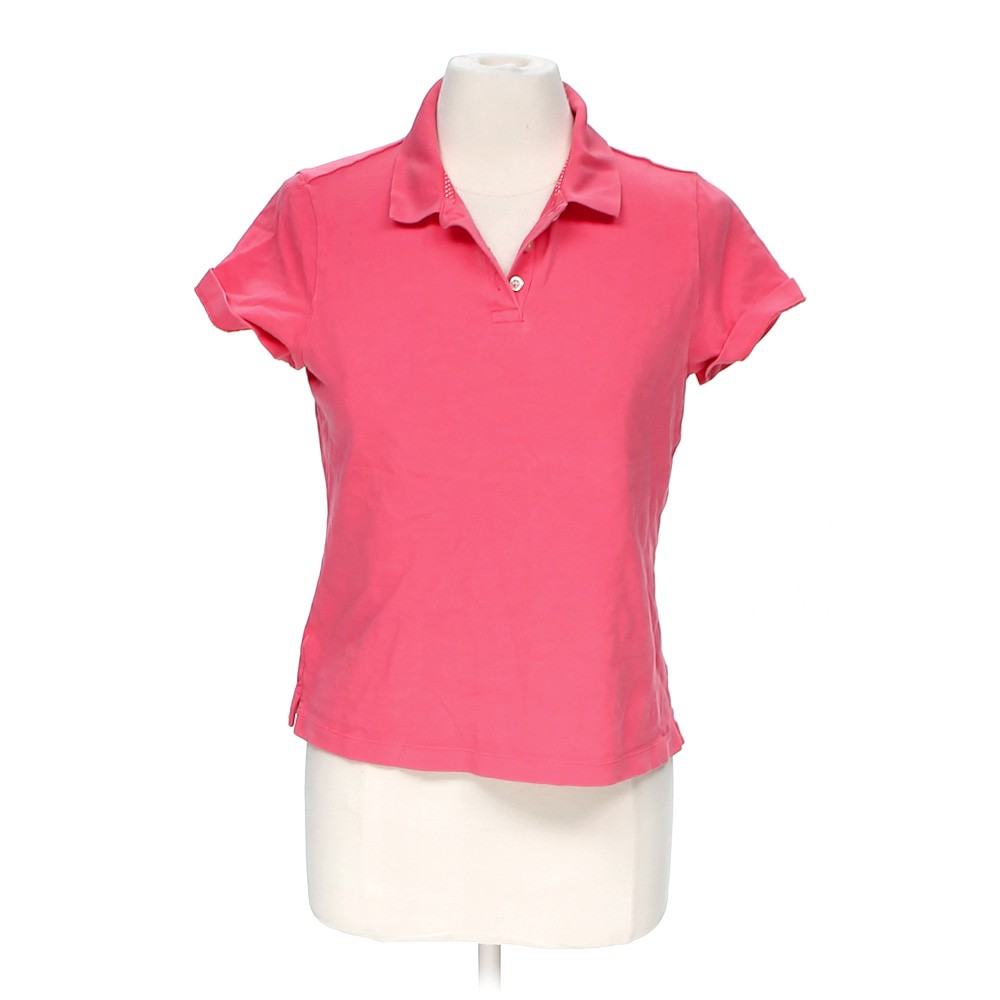 Lands 39 end cute polo shirt in size m at up to 95 off for Cute polo shirts for women