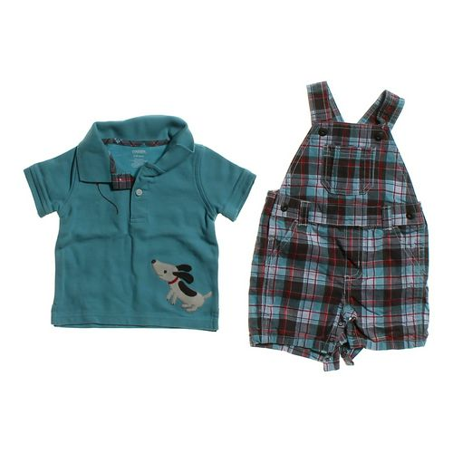Gymboree Cute Polo Shirt & Overalls Set in size 3 mo at up to 95% Off - Swap.com