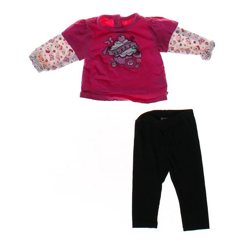 The Children's Place Cute Shirt & Basic Pants Set in size 3 mo at up to 95% Off - Swap.com