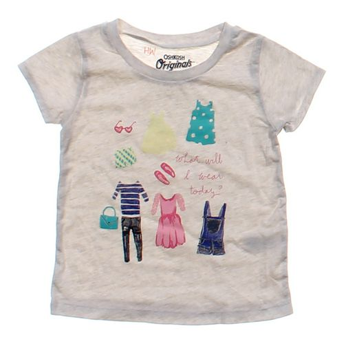 OshKosh B'gosh Cute Shirt in size 2/2T at up to 95% Off - Swap.com