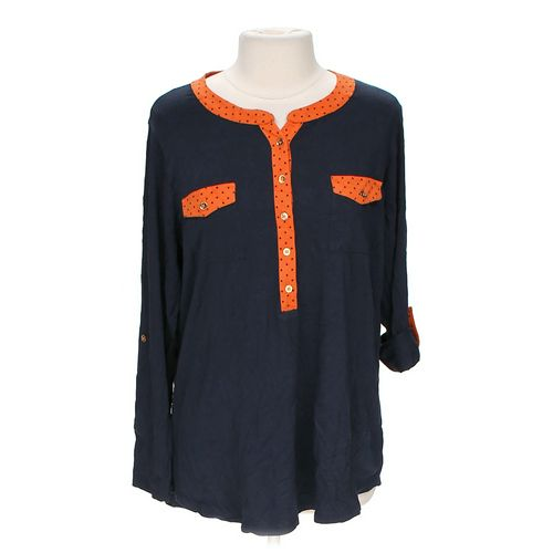 Jones New York Cute Shirt in size 1X at up to 95% Off - Swap.com