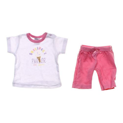 Faded Glory Cute Shirt & Pants Set in size NB at up to 95% Off - Swap.com