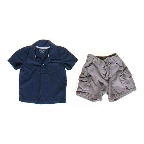 Cherokee Cute Shirt & Shorts Set in size 12 mo at up to 95% Off - Swap.com