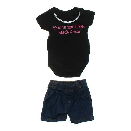Faded Glory Cute Shirt & Shorts Set in size 3 mo at up to 95% Off - Swap.com