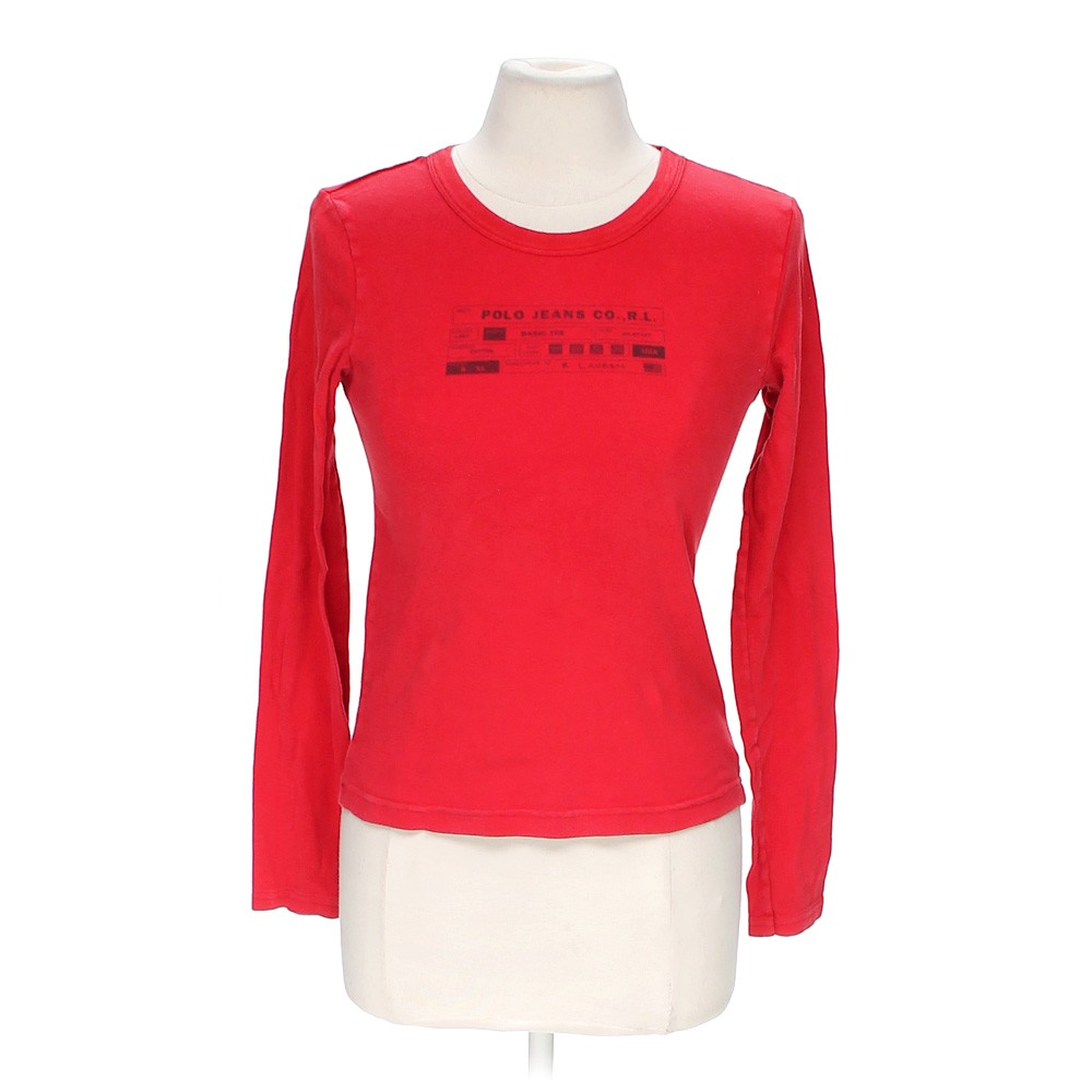 Red u s polo assn cute shirt in size m at up to 95 off for Cute polo shirts for women