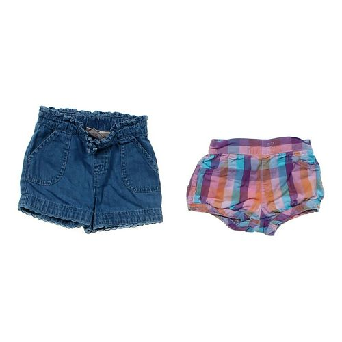 Faded Glory Cute Shorts 2 Pack in size 12 mo at up to 95% Off - Swap.com