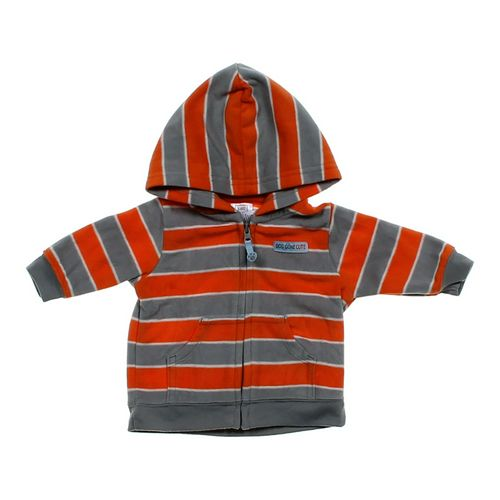 Just One You Cute Striped Hoodie Jacket in size 3 mo at up to 95% Off - Swap.com