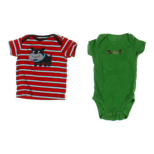 Carter's Cute Striped Shirt & Bodysuit Set in size 6 mo at up to 95% Off - Swap.com