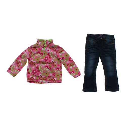 Arizona Cute Sweatshirt & Jeans Set in size 2/2T at up to 95% Off - Swap.com