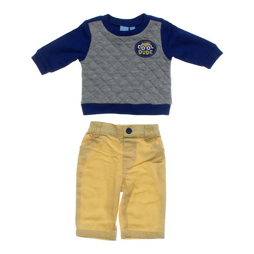 The Children's Place Cute Sweatshirt & Pants Set in size NB at up to 95% Off - Swap.com