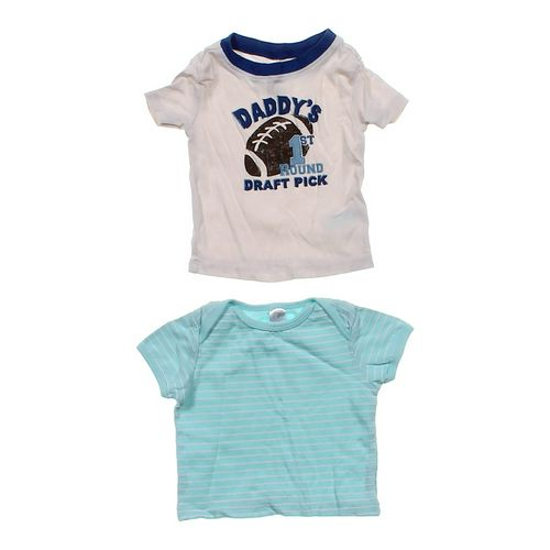 The Children's Place Cute T-shirt Set in size 3 mo at up to 95% Off - Swap.com