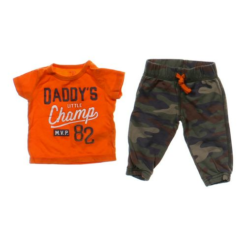 Carter's Cute T-shirt & Sweatpants Set in size 6 mo at up to 95% Off - Swap.com