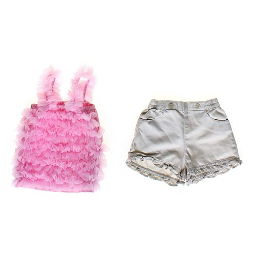 Pettitop Cute Tank Top & Shorts Set in size 3 mo at up to 95% Off - Swap.com