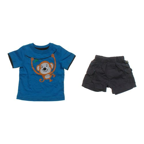 Jumping Beans Cute Tee & Shorts Set in size 3 mo at up to 95% Off - Swap.com