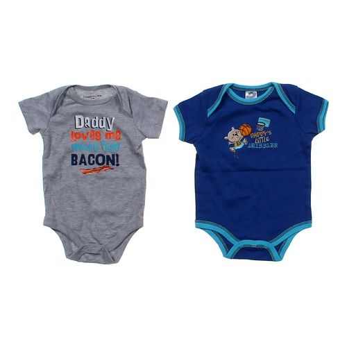 """Faded Glory """"Daddy"""" Bodysuits Set in size 3 mo at up to 95% Off - Swap.com"""