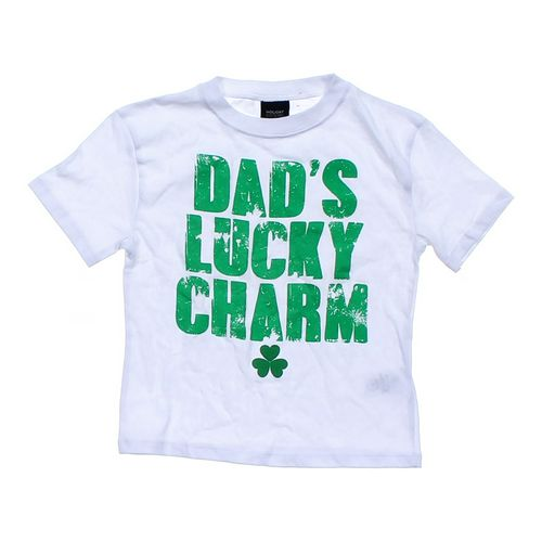 "Holiday Editions ""Dad's lucky Charm"" Tee in size 4/4T at up to 95% Off - Swap.com"