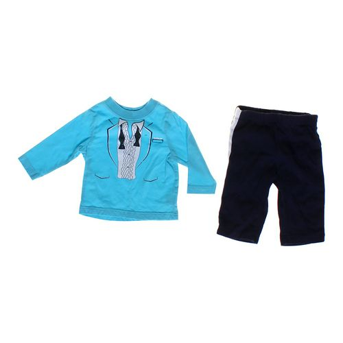 The Children's Place Dapper Shirt & Pants Set in size 6 mo at up to 95% Off - Swap.com