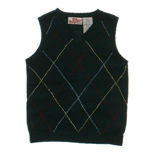 Kids Headquarters Dapper Sweater Vest in size 5/5T at up to 95% Off - Swap.com