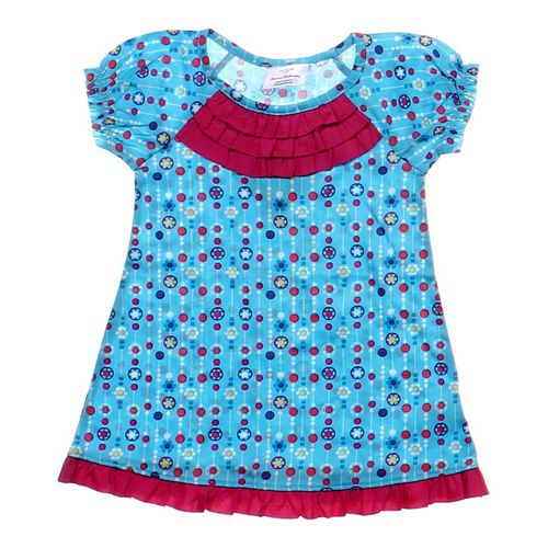 Hanna Andersson Darling Ruffled Tunic in size 2/2T at up to 95% Off - Swap.com