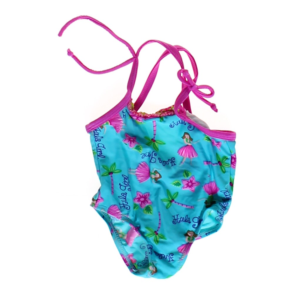 Girls Toddler Bathers Size 0 & 1 Baby