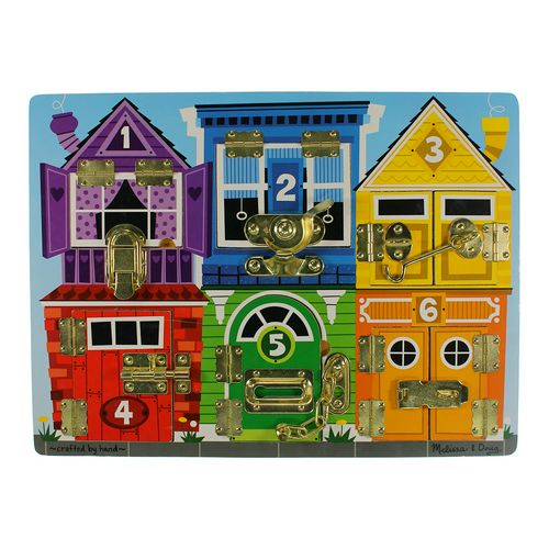 Melissa & Doug Deluxe Latches Board Puzzle at up to 95% Off - Swap.com