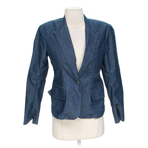 Denim Blazer in size 2 at up to 95% Off - Swap.com