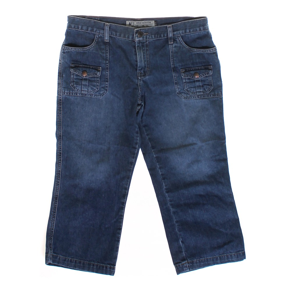 American Eagle Outfitters Denim Capri Pants - Online Consignment
