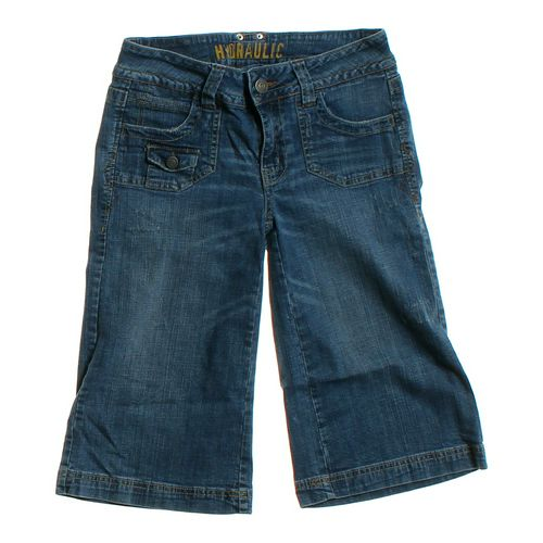 Hydralics Denim Capris in size JR 7 at up to 95% Off - Swap.com