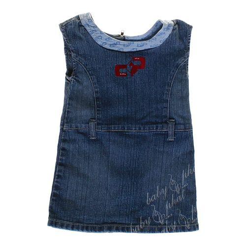 Baby Phat Denim Dress in size 18 mo at up to 95% Off - Swap.com