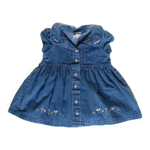 Carter's Denim Dress in size 6 mo at up to 95% Off - Swap.com