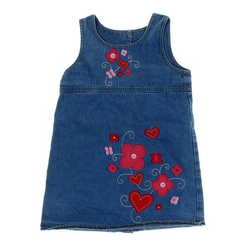 Kiks Denim Dress in size 4/4T at up to 95% Off - Swap.com