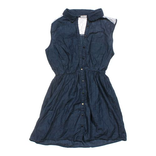 One Clothing Denim Dress in size JR 11 at up to 95% Off - Swap.com