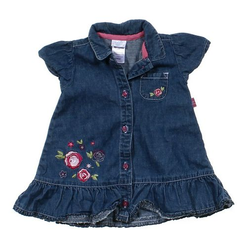 Small Wonders Denim Dress in size 6 mo at up to 95% Off - Swap.com