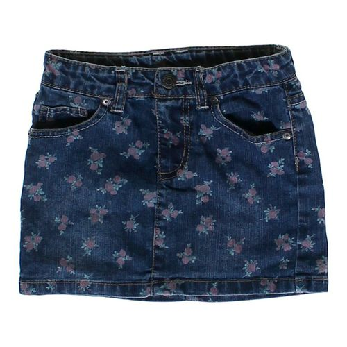 Arizona Denim Flower Skirt in size 5/5T at up to 95% Off - Swap.com