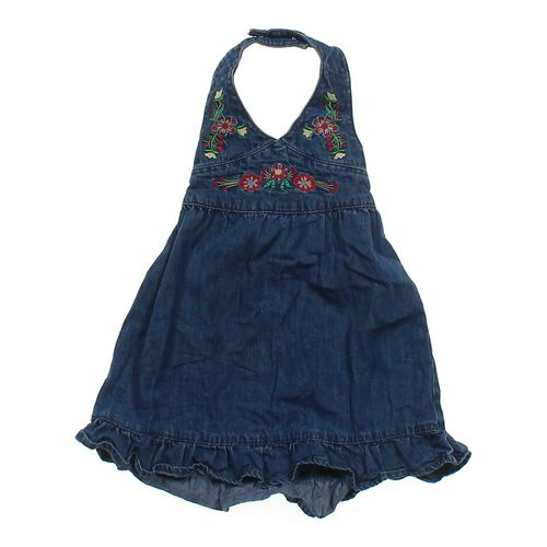 Old Navy Denim Haltered Dress in size 18 mo at up to 95% Off - Swap.com