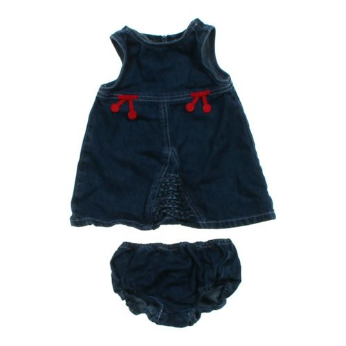 Denim Jumper Dress & Bloomers in size 6 mo at up to 95% Off - Swap.com
