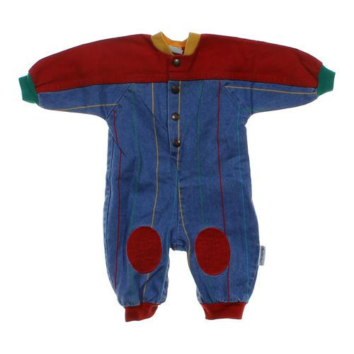 Healthtex Denim Jumpsuit in size 6 mo at up to 95% Off - Swap.com