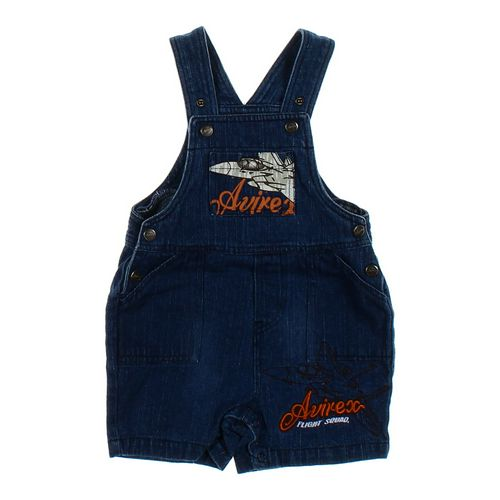 Avirex Denim Overall Shorts in size 12 mo at up to 95% Off - Swap.com
