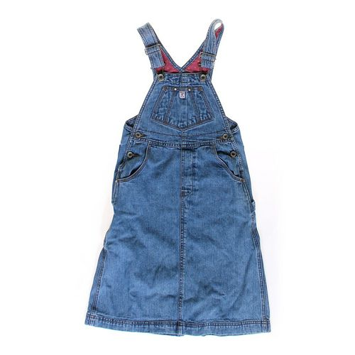 Gap Denim Overalls Dress in size 4/4T at up to 95% Off - Swap.com