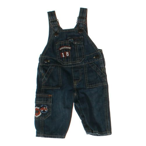 OshKosh B'gosh Denim Overalls in size 3 mo at up to 95% Off - Swap.com