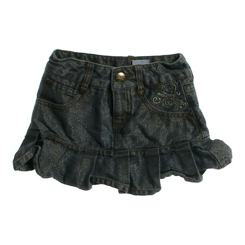 Hannah Montana Denim Pleated Skirt in size 6 at up to 95% Off - Swap.com