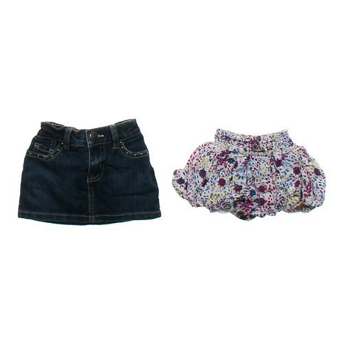 The Children's Place Denim & Sassy Skirt Set in size 6 mo at up to 95% Off - Swap.com
