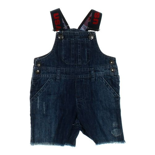 Koala Kids Denim Shortalls in size 3 mo at up to 95% Off - Swap.com