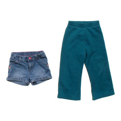 Carter's Denim Shorts & Comfy Sweatpants in size 4/4T at up to 95% Off - Swap.com