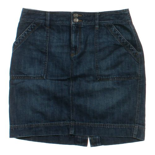 Ann Taylor Loft Denim Skirt in size 8 at up to 95% Off - Swap.com