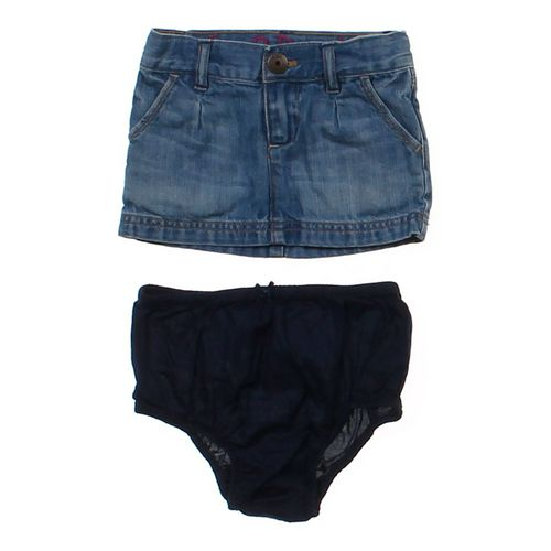 babyGap Denim Skirt & Bloomers Set in size 12 mo at up to 95% Off - Swap.com