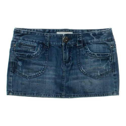 Aéropostale Denim Skirt in size JR 7 at up to 95% Off - Swap.com
