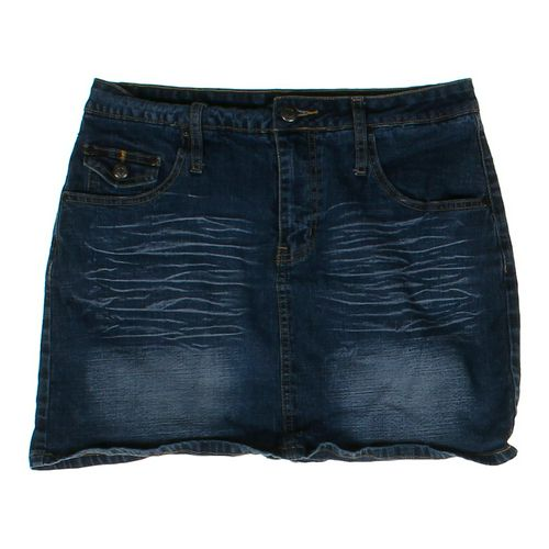 Bailey's Point Denim Skirt in size JR 7 at up to 95% Off - Swap.com