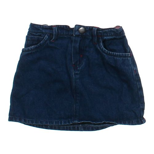 J. Khaki Denim Skirt in size 5/5T at up to 95% Off - Swap.com
