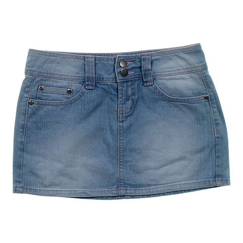 LEI Denim Skirt in size JR 1 at up to 95% Off - Swap.com